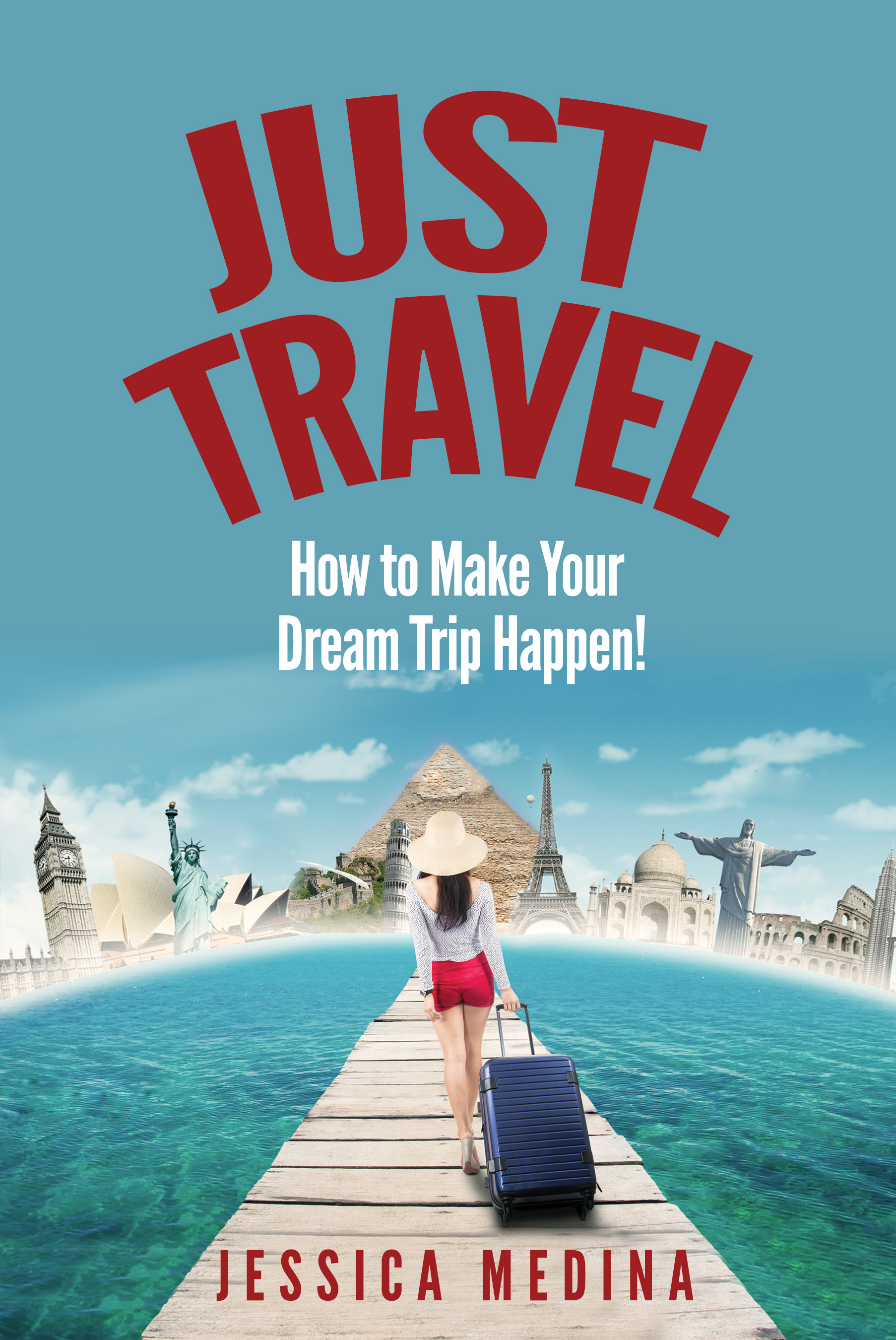 I am writing a book about travel, but I am sure I couldn't design a cover as well as you could.