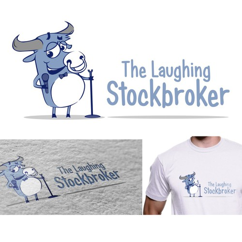 Fun logo for The Laughing Stockbroker