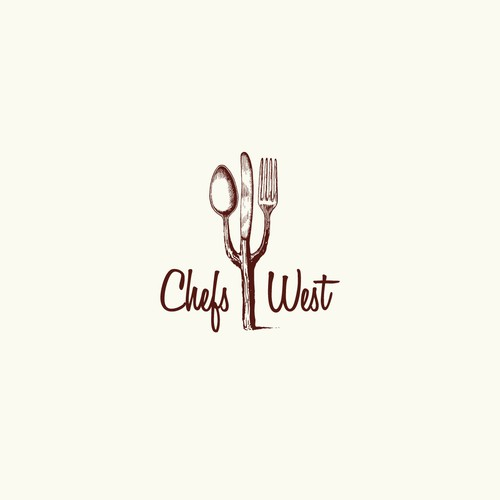 creative logo for Chefs West
