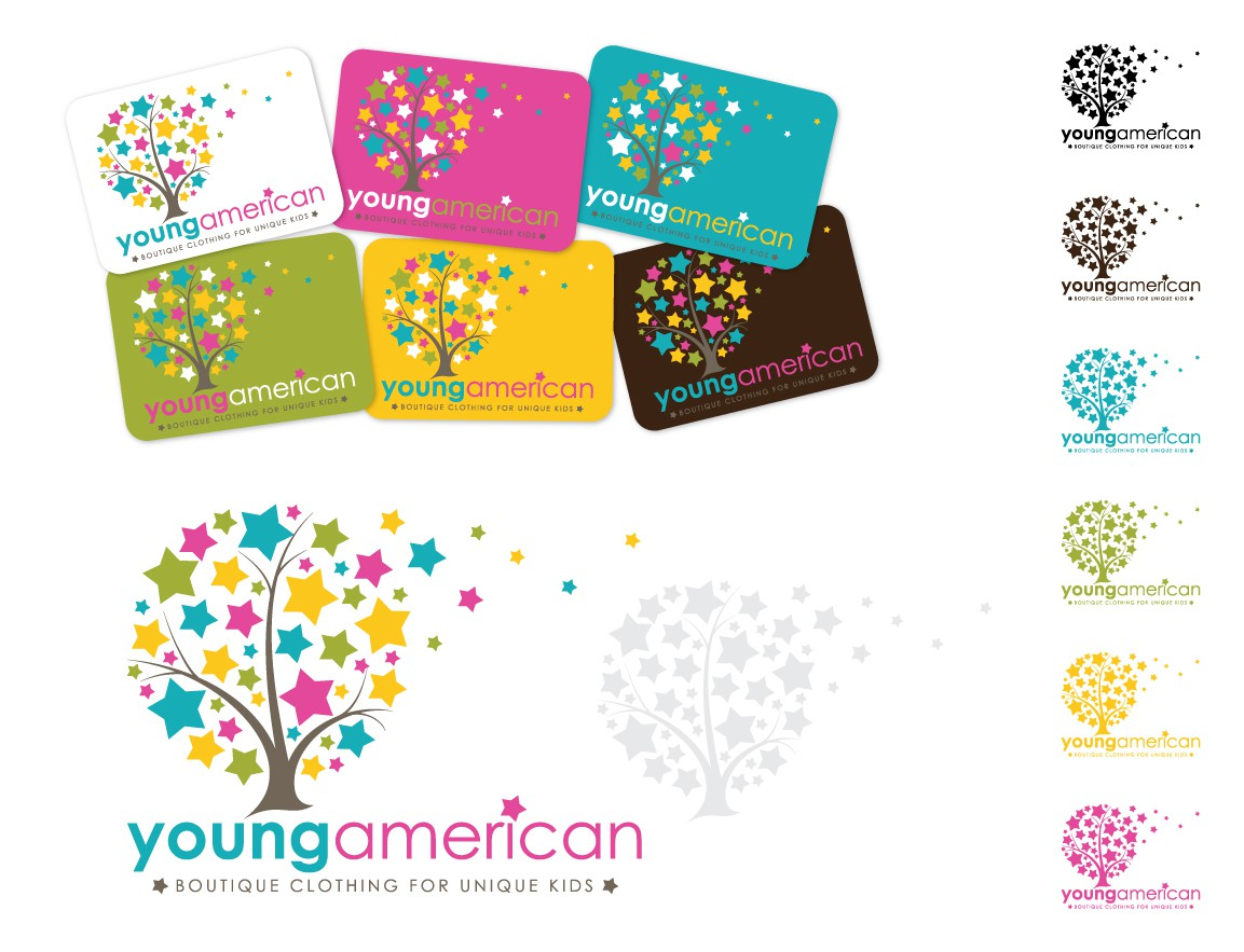 Young American (a Cool Kids Boutique) is seeking a kick-a@# new logo