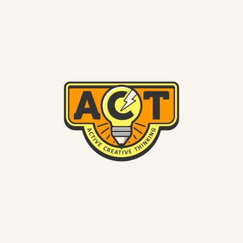 Creative logo work for A.C.T.