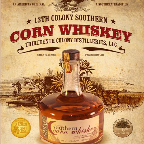 Poster for Thirteenth Colony Distilleries, LLC