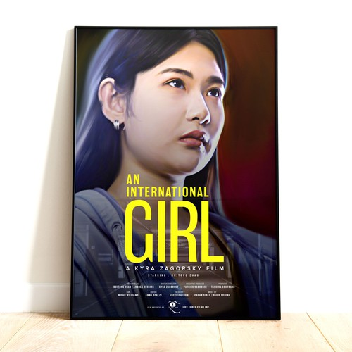 An Internation Girl_Movie Poste