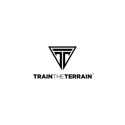 powerful logo for train the terrain