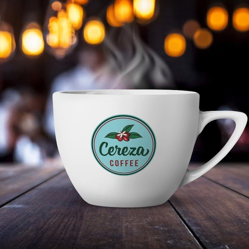 Logo for Cereza Coffee