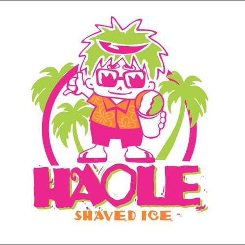 HAOLE shaved ice