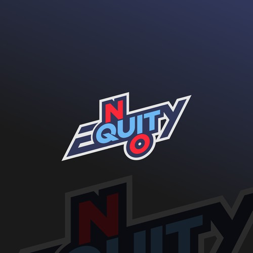 logo concept for EQUITY, an athletes clothing brand