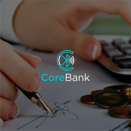 Design an eye caughting logo for a new bank