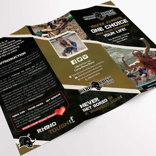 TriFold for Camp Rhino