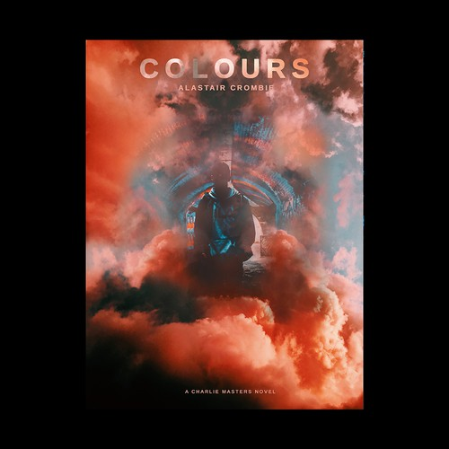 eBook cover for a debut YA novel