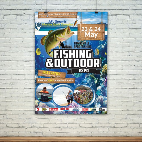 Poster for Fishing and outdoor Expo