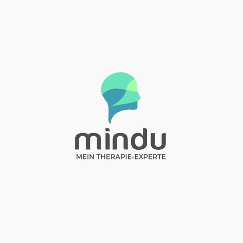 Modern logo for mental health