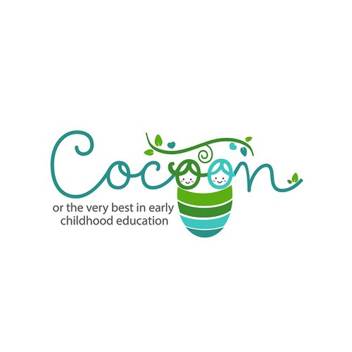 cute and elegant logo for childcare