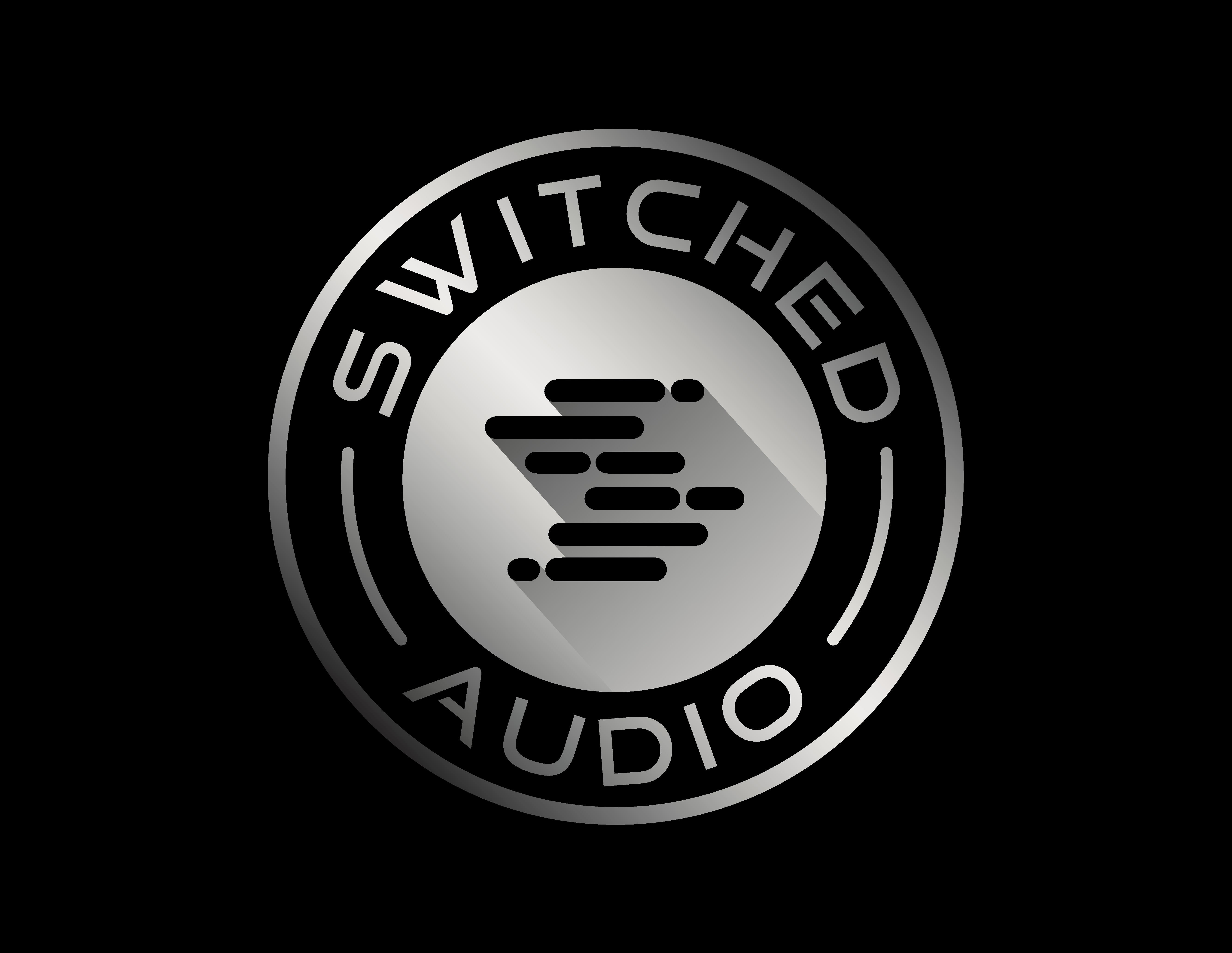 Switched Audio Logo Design