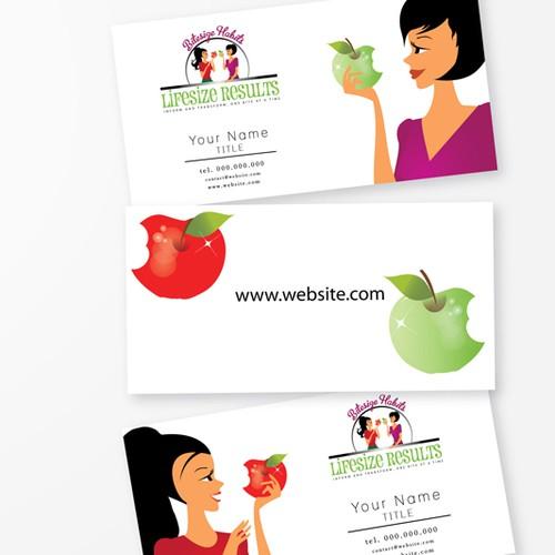 Create the next logo for Bitesize Habits Lifesize Results