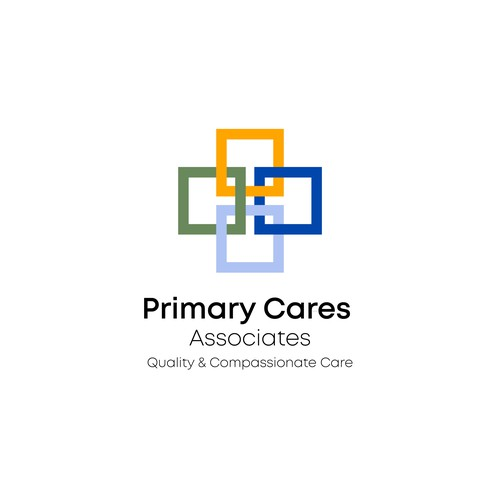 Simple and Professional logo concept for medical care company