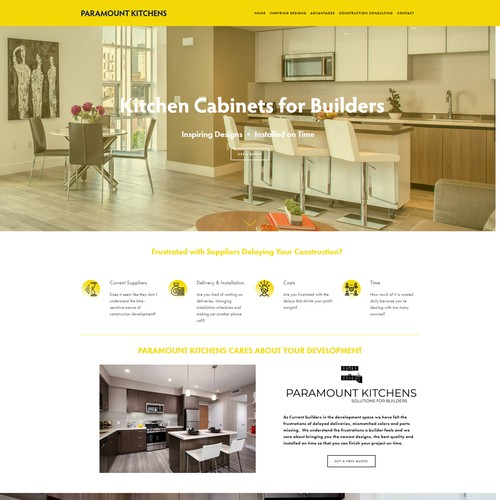 Paramount Kitchen Cabinet Design