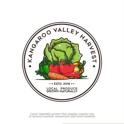 natural logo concept