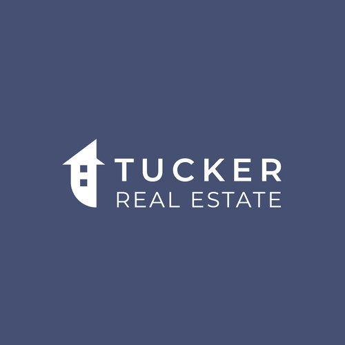 Initial-based Logo for real estate agent.