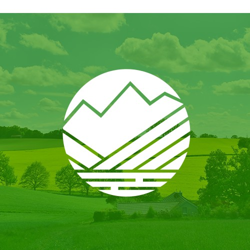 Clean logo for environmental consulting company in mountain town