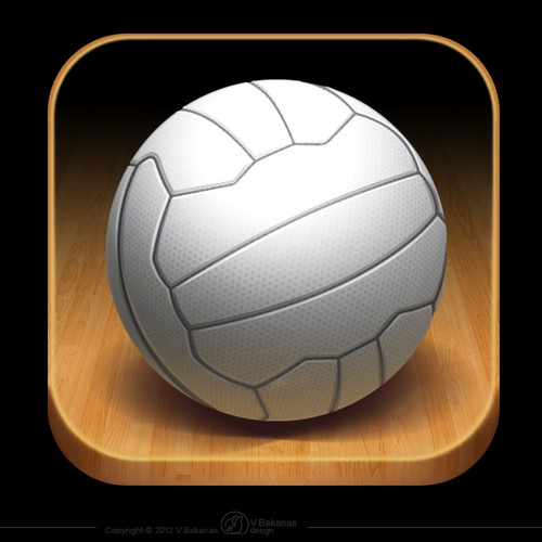 New icon design for Netball iPhone app