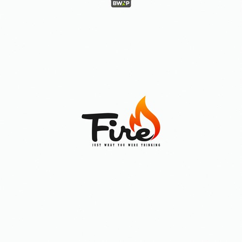 Fire Captions Clothing Logo