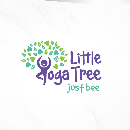 A Fun & Attractive Logo for Children's Yoga Classes