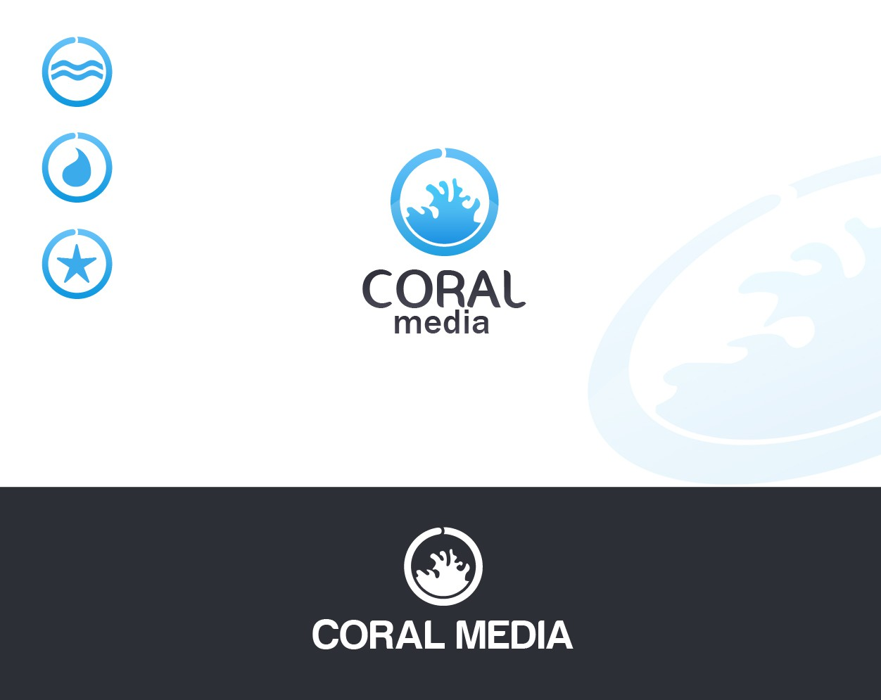 Design a Logo for Coral Media