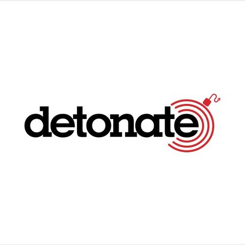 Logo design concept for Detonate