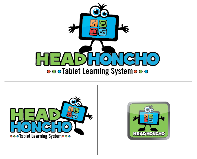 Choose colors & create logo for Head Honcho Tablet Learning System