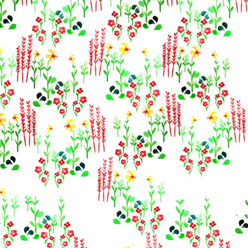 Colorful Textile Design