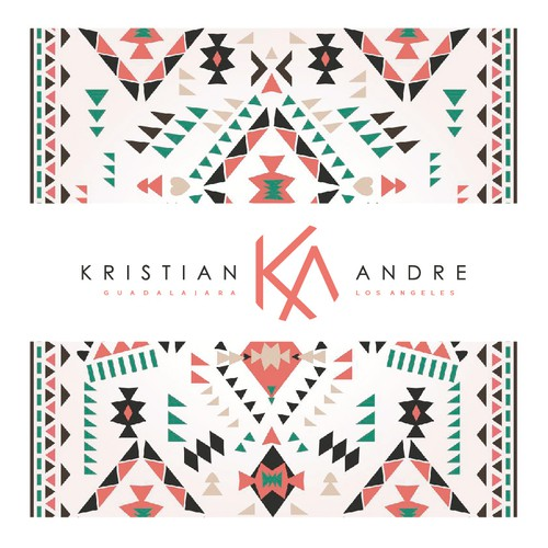 Typographic logo for Kristian & Andre