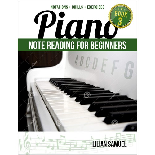 Piano Note-Reading Book Series Design