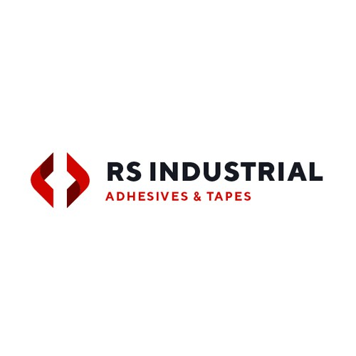Logo concept for industrial tape and adhesive manufacturer