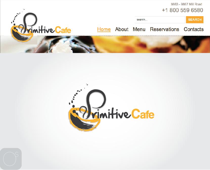 Create the next logo for Primitive Cafe