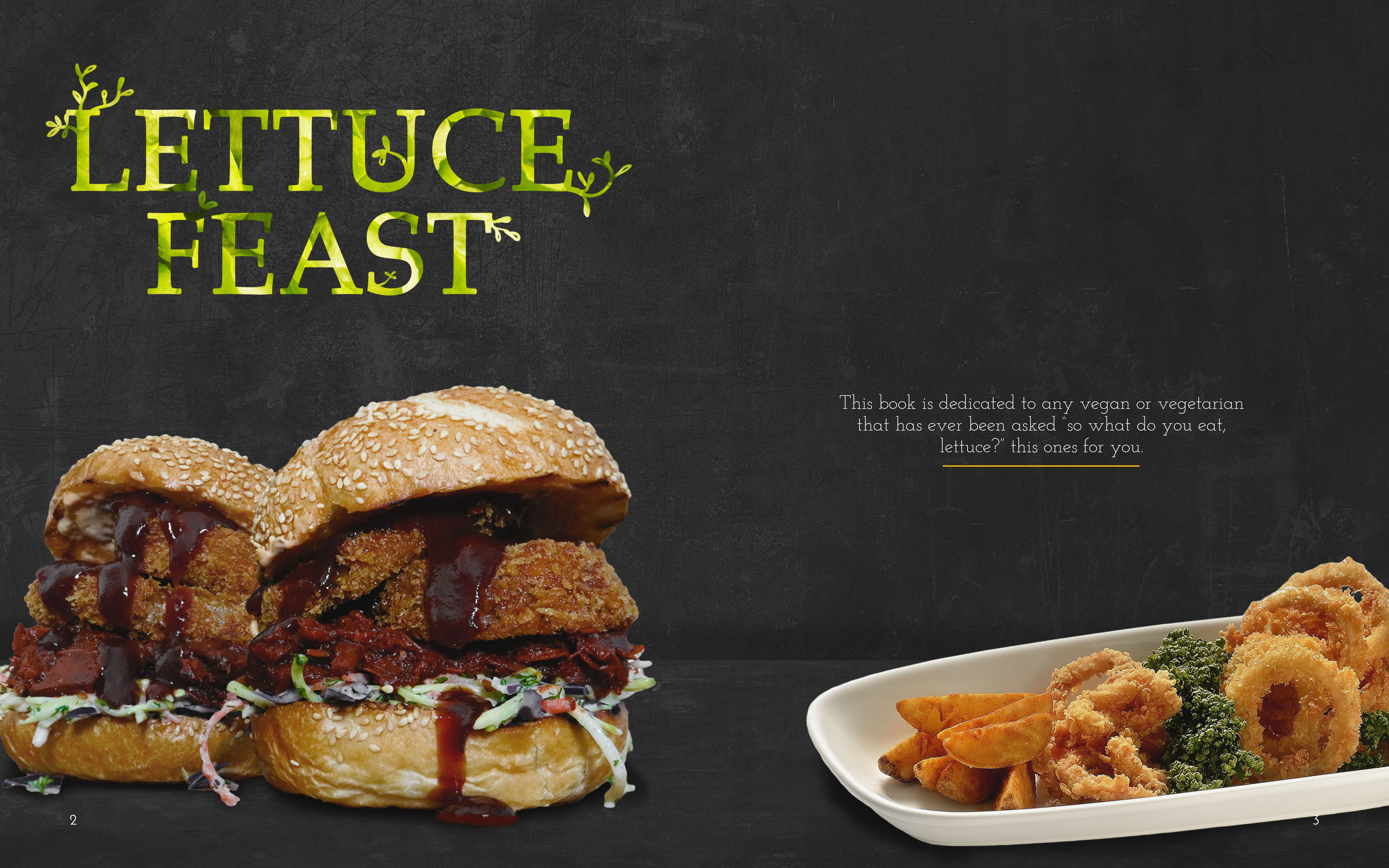 Lettuce Feast Book Pages