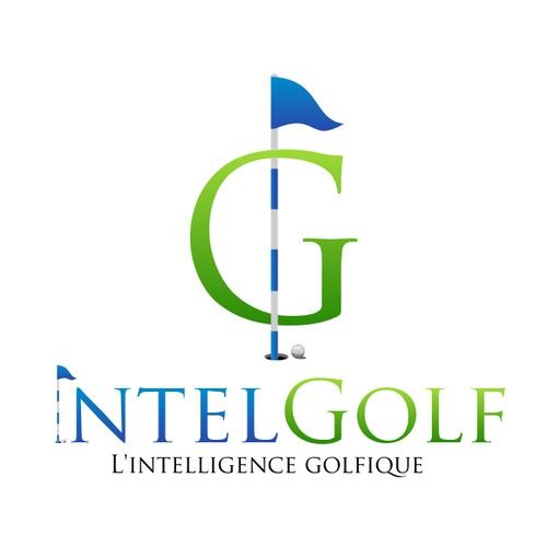 Intel Golf Logo