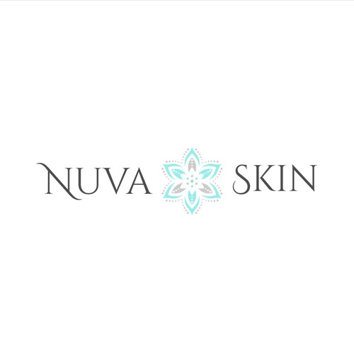 Logo design for Nuva Skin