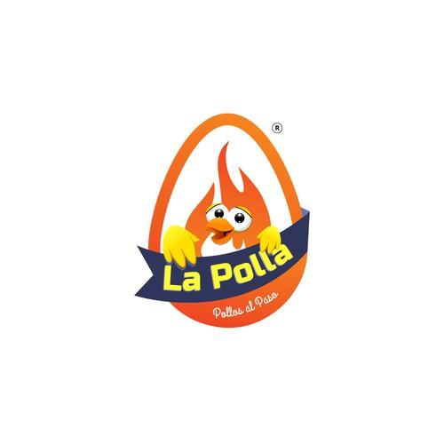 La polla logo