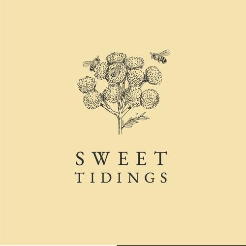 Logo for honey brand