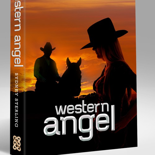 """Create an amazing book cover for my historical western romance ebook """"Western Angel"""""""