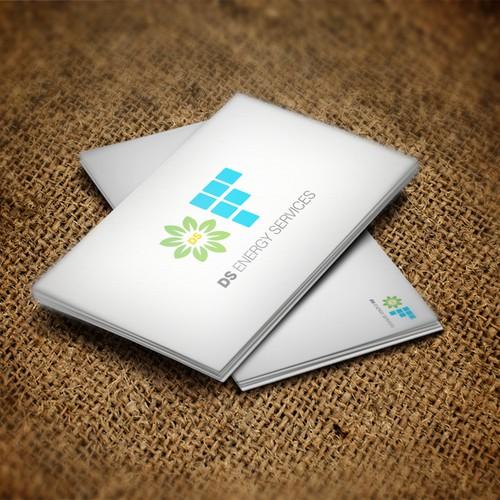 logo concept #1 for solar company