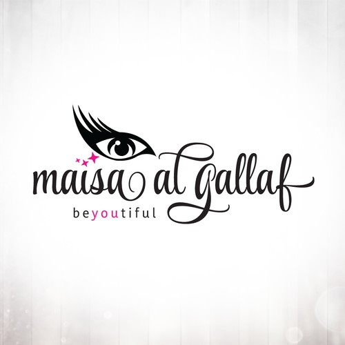 Makeup Eyelash Logo Design