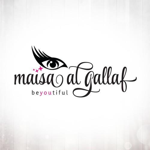 Makeup Eyelash Logo Design