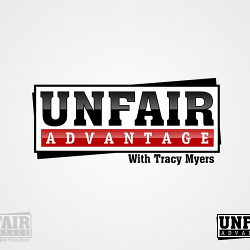 logo for Unfair Advantage with Tracy Myers