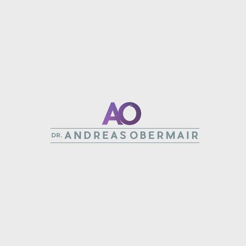 Logo Concept For Dr. Andreas Obermair Gynecologist