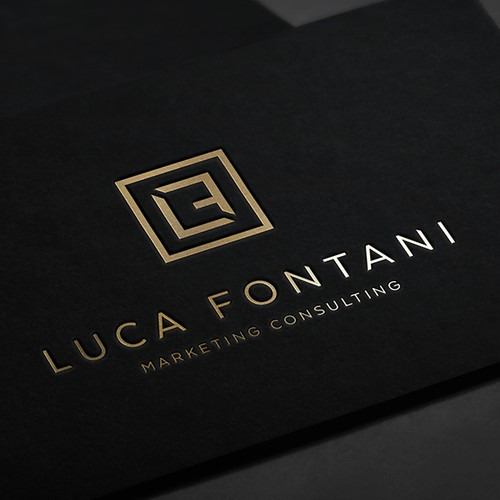Minimal and elegant logo for a consultant