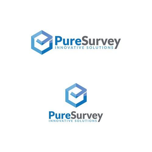 Modernized logo for survey  company