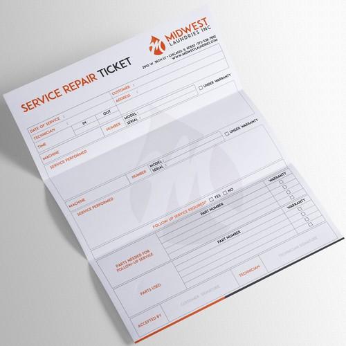 Service Repair Ticket