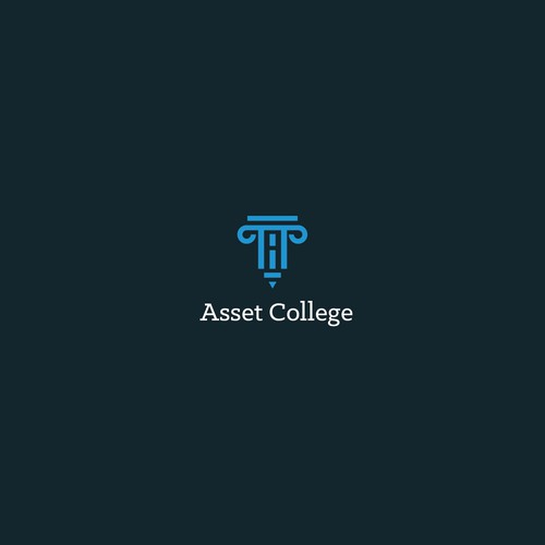 Asset College Logo design
